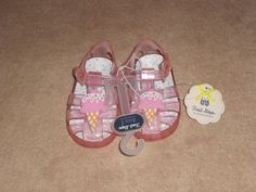 MLB New York Yankees Baby Girls Shoes Soft Sole Size 12-18 Months 4-5 White Pink