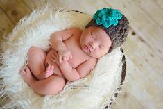 Handmade by Phanessa: Crochet Newborn Puff Stitch Beanie