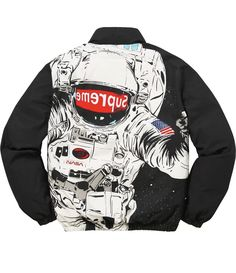 131edbfccd5 SUPREME 16AW Astronaut Puffy Jacket Down Jacket BLACK SMALL TNF The North  Face  fashion