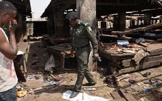 Two bomb blasts kill around 50 at a market in Gombe
