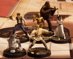 SW imperial assault the original characters