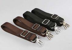 Backpack Strap, 1 PCS Backpack Strap Nylon Strap, Adjustable Black / Brown Strap