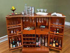 22 best liquor cabinet design images on Pinterest | Bar home, Drinks ...