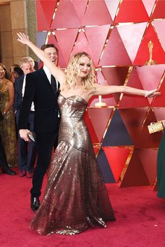 Jennifer Lawrence at the 90th Academy Awards ceremony, Los Angeles March 4, 2018.