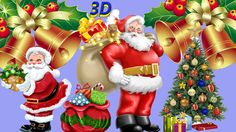 Finger Family || SANTA CLAUS  Version || Children Animated 3D Rhymes