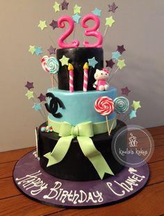 Happy 23rd birthday cake google search cakes glorious cakes 23rd birthday cake thecheapjerseys Images