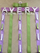 Hair Bow Holder - Cheer Bow Holder With Attached Clippies To Hold Cheer Bows