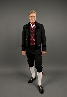 Valdres men's outfit. Dapper looking fellow