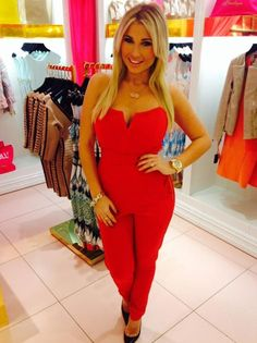 TOWIE's Billie Faiers looks ravishing in red at launch of new House Of CB in Leeds, 8 November 2014
