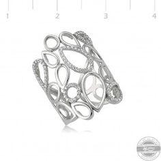 Gümüş Geometrik Yüzük