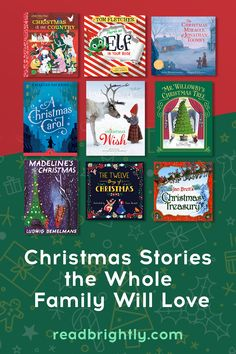 These classic Christmas-inspired books and newer offerings are cherished by kids and families every holiday season.