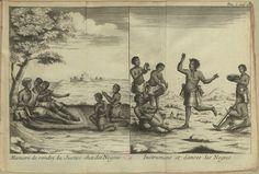 """D.S. XVIII - 106 - 0001_new - Giovanni Antonio Cavazzi (1622-1692) ; Jean-Baptiste Labat,(1633 -1738) – """"Relation historique de l'Ethiopie Occidentale…"""".  A Paris : chez Charles-Jean-Baptiste Delespine, le fils, Libraire, 1732. BNP D.S. XVIII - 106"""
