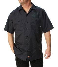 Outlaw Threadz Men's Original Outlaw Button Up Work Shirt