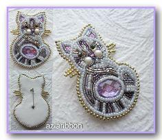 Кошки-брошки   biser.info - всё о бисере и бисерном творчестве