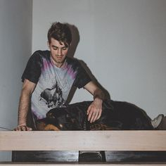 """Andrew:: """"I'm falling in love with someone I just met. Chainsmokers, Andrew Taggart, New District, Foto E Video, Photo And Video, Ideal Boyfriend, Im Falling In Love, Boys Don't Cry, The Ch"""