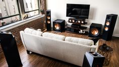 Klipsch  Reference  Premiere  Center  Channel  Speakers  Atmos