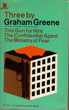 Three By Grahame Greene Paperback – 1968 by Grahame Greene Milton Glaser, Graham Greene, Mystery Stories, Pulp Magazine, Penguin Books, Vintage Books, Childrens Books, Fiction, Graphic Design