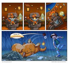 funny Pokemon Charmander Ash rock