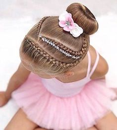 Ballet Hairstyles, Kids Curly Hairstyles, Little Girl Hairstyles, Braided Hairstyles, Little Girls Makeup, V Hair, Pageant Hair, Curly Hair Styles, Hair Beauty