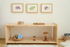 montessori baby shelf
