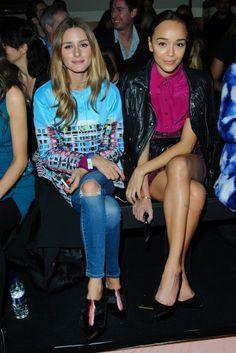Olivia Palermo y Ashley Madekwe