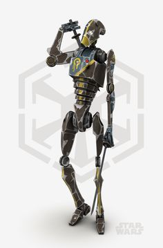 Star Wars - Droid Commando by cr8g on @DeviantArt #Droid #Commando