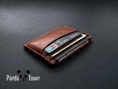 Thin Card wallet / Minimal Wallet / credit card by PandaTown