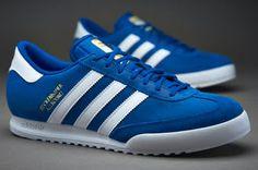 Sepatu Sneakers Adidas Originals Beckenbauer Royal White Gold