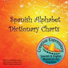 These charts were designed to help students create a dictionary for the Spanish Alphabet.  The charts contain the letters of the Spanish Alphabet.  There is a square for the sound of the letter, a word that begins with that particular letter of the alphabet, and a square for a picture of the word.