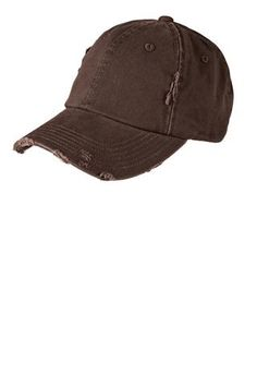 2607a92a0f2 Chocolate Brown Distressed Hat