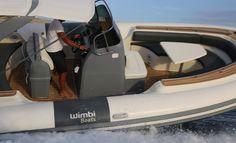 Australie mer Cockipt Bateau Pneumatique Semi-rigide Wimbi Boats Small Motor Boat, Rib Boat, Yacht Boat, Boat Design, Beach Bars, Motor Boats, Ribs, Boats, Australia