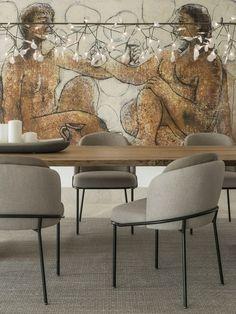 Casa de lujo en Mallorca decorada con Minotti Home Interior Design, Interior Design, House Interior, Furniture, Elle Decor, Family Room, Courtyard House, Coffee Table, Home Decor