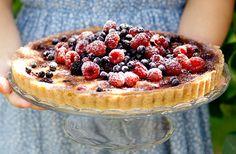 Rör-ihop-kaka med bär | Allt om Mat