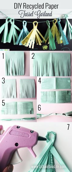 DIY Recycled Paper T