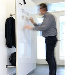 Wardrobe glass board systems | CHAT BOARD Wardrobe