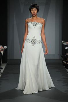 Mark Zunino exclusively at Kleinfeld Spring / Summer 2014 Collection - Mark Zunino at Kleinfeld - Wedding Style Magazine