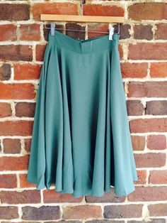 Mint midi skirt $49.50. I need this skirt in my life.