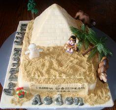Pyramid Cake!!