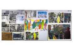 Year 13 folio 2104 Art Portfolio, Printmaking, Past, Photo Wall, Boards, Ideas, Decor, Planks, Past Tense
