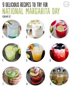 February 22 is #NationalMargaritaDay! Here are 9 fresh, delicious recipes to try | Cody Uncorked