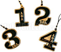 ALPHA PHI ALPHA LINE NUMBER TIKI NECKLACE WITH GREEK LETTERS (CUSTOMIZE WITH YOUR LINE NUMBER) Item Id: PRE-TIKI-AFA-NUM_LTR Price: $39.00