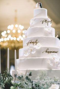 Wedding Cake Inspiration - Photo: Sixtysix Visual