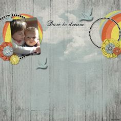 Over The Rainbow Collection, designed by Jennifer Ziegler, Scrap Girls, LLC digital scrapbooking product designer