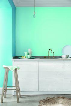 Kleur inspiratie   Schilderen in de keuken (Little Greene kitchen paint) - Woonblog Stijlvol