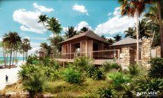#landscape #architecture #garden #public #holiday #resort #path #bungalow #tanzania #zanzibar #zuri