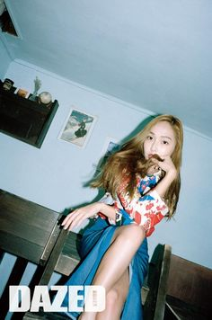 Jessica keeps it chic and casual lounging around in 'Dazed' pictorial   allkpop.com