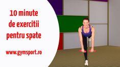 10 minute de exercitii pentru spate