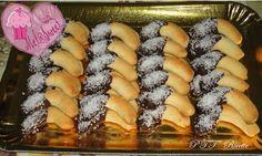 Biscotti Ghribas al cocco e cioccolato fondente - Ricette marocchine