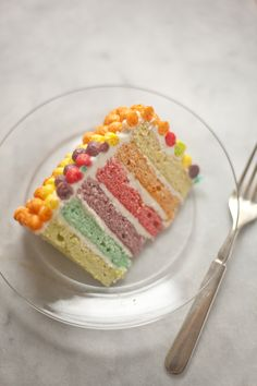Trix Cake | ZoeBakes