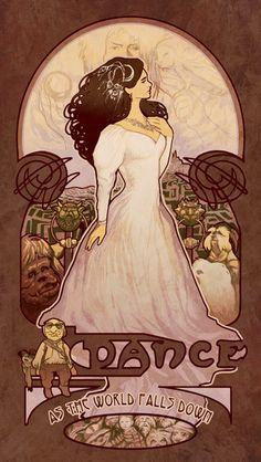 Sarah - Labyrinth Art Nouveau